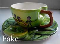 Fake Beatles cup and saucer