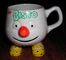 Fake Bisto mug with feet 1