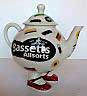 Fake Bassett's Walking Ware teapot