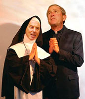 Blair & Bush pray!