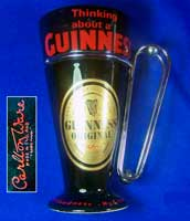Fake Garlton Ware Guinness beaker