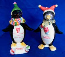 Fake Carlton Ware Guinness penguins salt & pepper