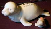 Fake Carlton Ware Guinness mother & baby seals