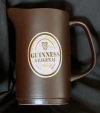 Fake Carlton Ware Guinness water jug
