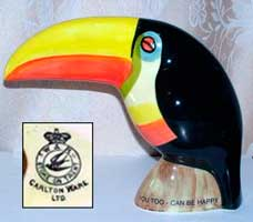 Fake Carlton Ware Guinness toucan