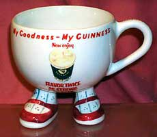 Fake Carlton Ware Walking Ware/Guinness cup
