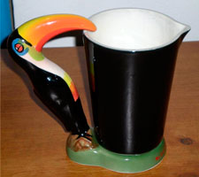 Fake Carlton Ware Guinness toucan jug