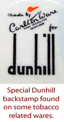 Special Dunhill backstamp.