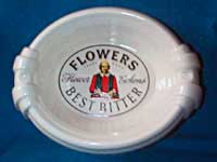Flowers ash-tray.