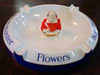 Flowers Shakespeare ash-tray.