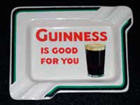 Guinness ash-tray.