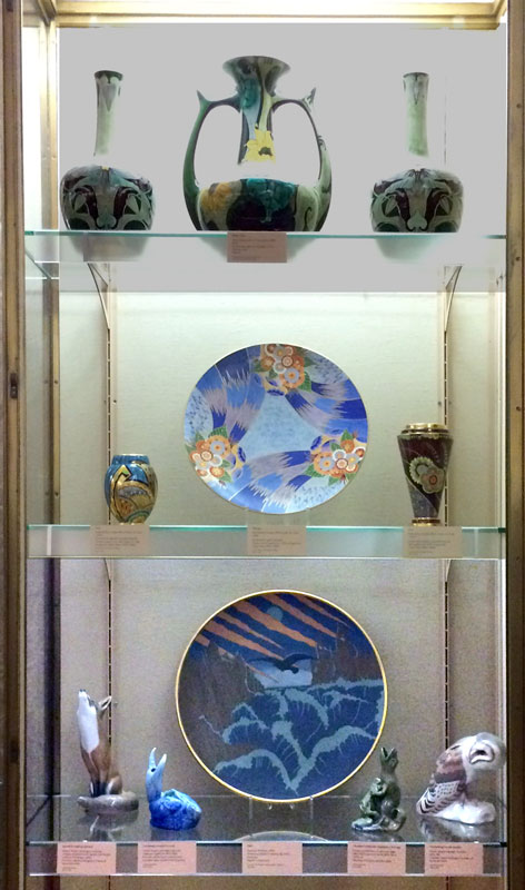Carlton Ware exhibits at the Fitxwilliam Museum