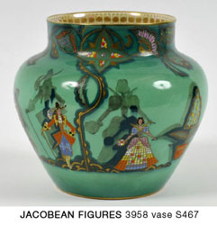 JACOBEAN FIGURES 3958 vase