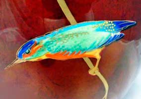 Kingfisher & Vine completed decoration