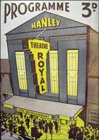 A programme from the 1930s for the Theatre  Royal, Hanley.
