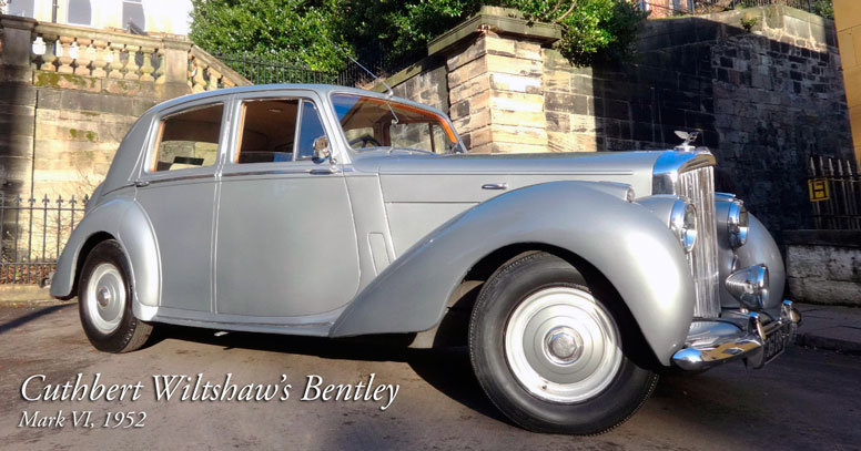 Cuthbert Wiltshaw's Bentley