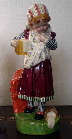 Spilled Milk china figure by Birks Rawlins