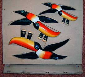 Original Carlton Ware Guinness flying toucans 2