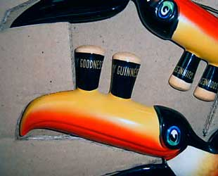 Original Carlton Ware Guinness flying toucans 1