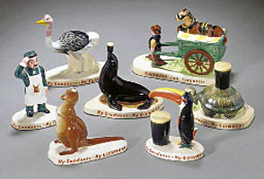 Carlton Ware Zoo series by John Gilroy for Guinness