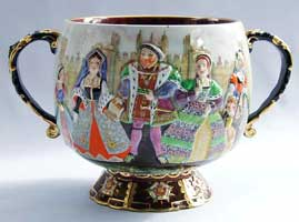 Henry VIII punch bowl