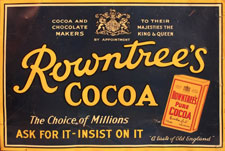 Rowntrees Cocoa advert
