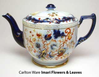 Carlton Ware <strong>Imari Flowers & Leaves</strong>, teapot.