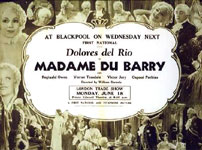 Madame Du Barry advertising.