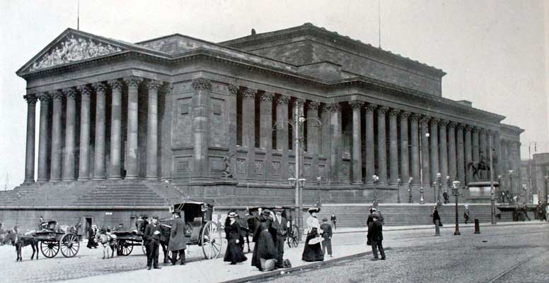St George's Hall, Liverpool c.1904