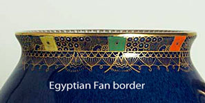 Egyptian Fan border.