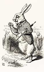 The White Rabbit by Sir John Tenniel