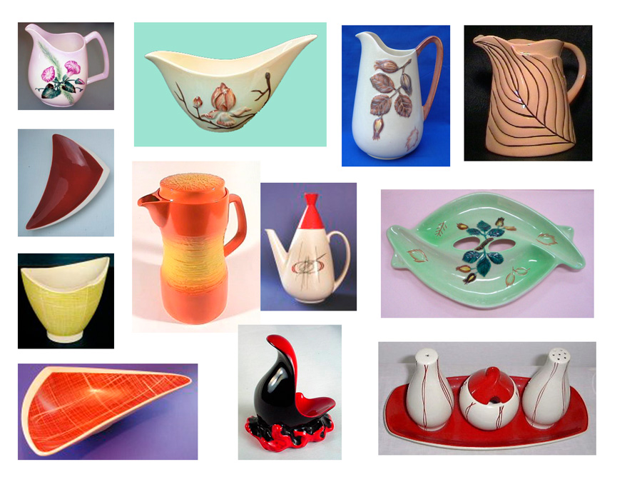 A selection of Carlton Ware from the 1950s & 60s