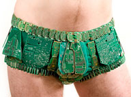 Upcycled circuit boards