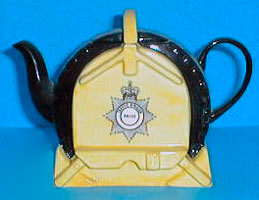 Wheel Clamp teapot