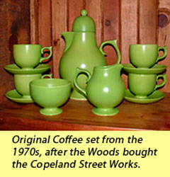 Original coffee set from the 1970s